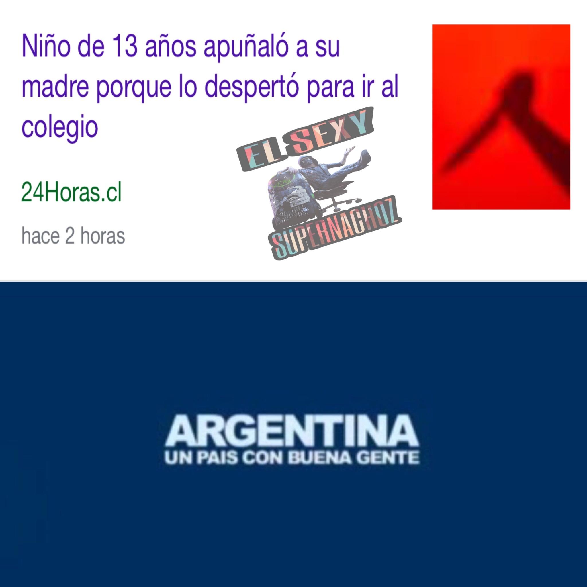 Aunque no lo crean... si, fue en Argentina - meme