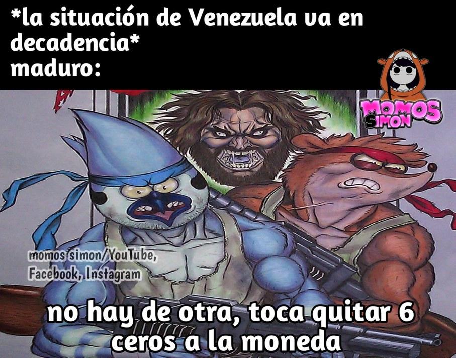 Saquemen de Venezuela - meme