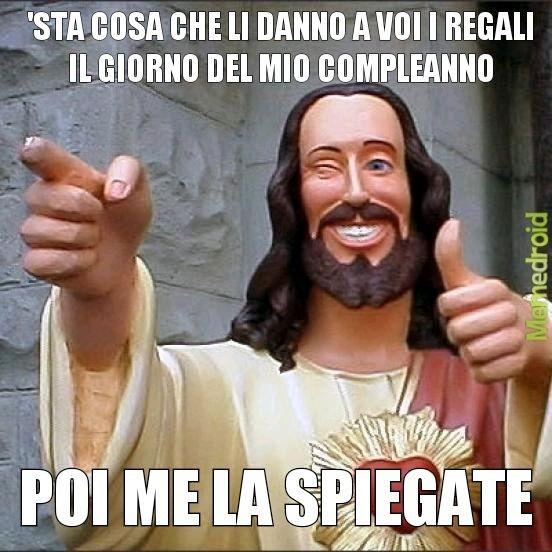 Povero Gesù - meme