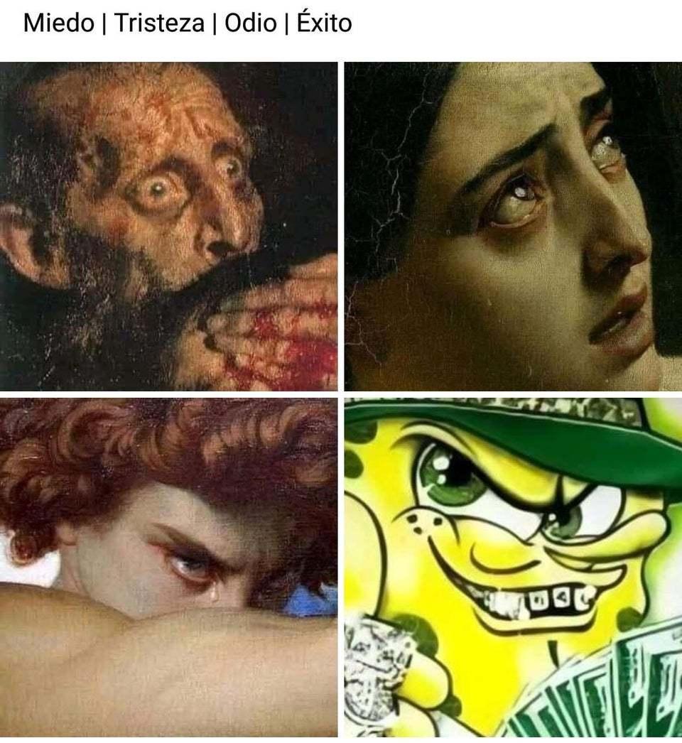 Exito - meme