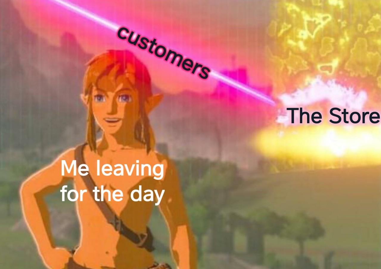 Work life - meme
