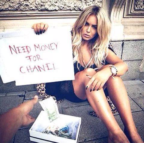 53fa1de69a9a1 necesito dinero para chanel meme subido por tentaxion vt ) memedroid