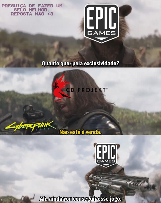 Exclusivadores - meme