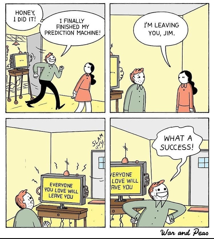 prediction machine - meme