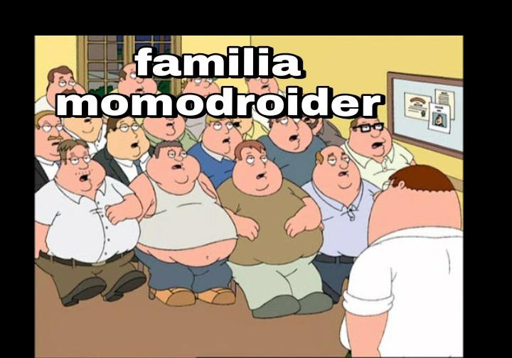 Familia momodroider - meme