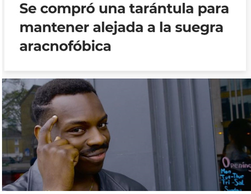 Muy listo - meme