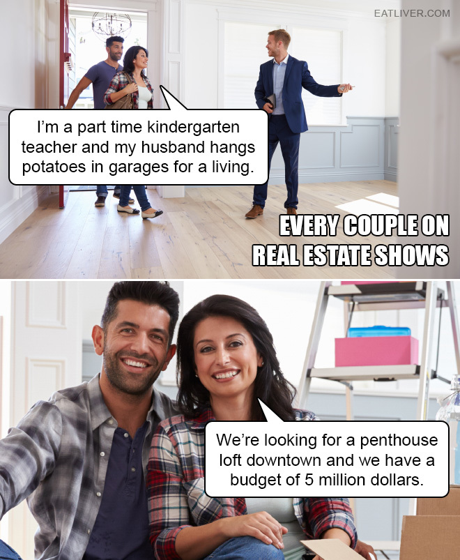 Real estate - meme
