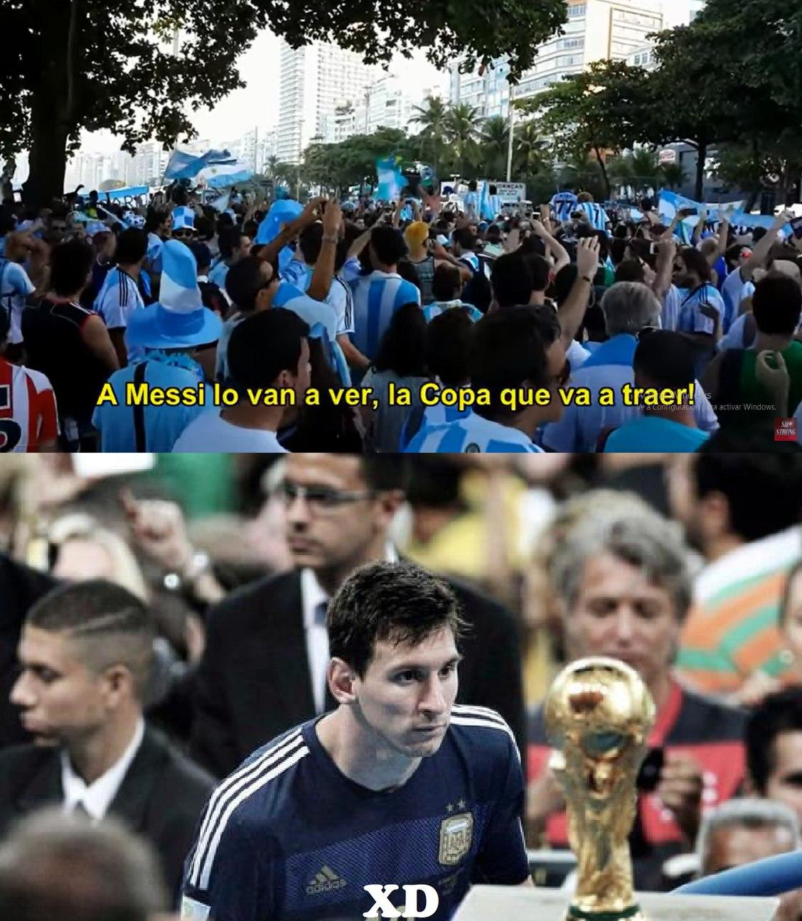 contexto: argentina fue subcampeona del mundo :okay:  (como me dolio ver a argentina perder esa final y eso que ni soy argentino) - meme