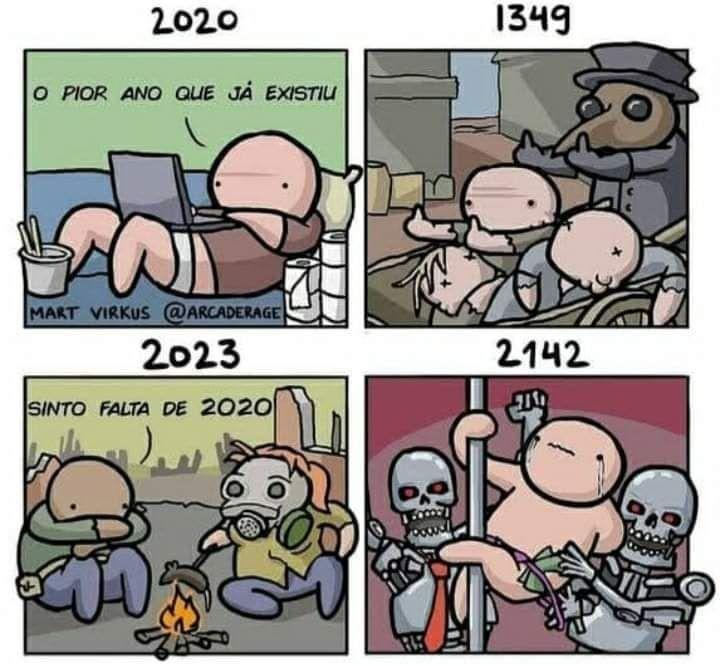 2142 será um ano muito louco - meme