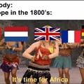 Sans oublier la Belgique !