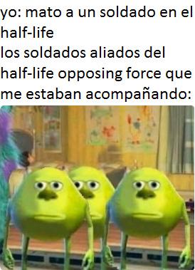 Half-life, que tiempos aquellos - meme