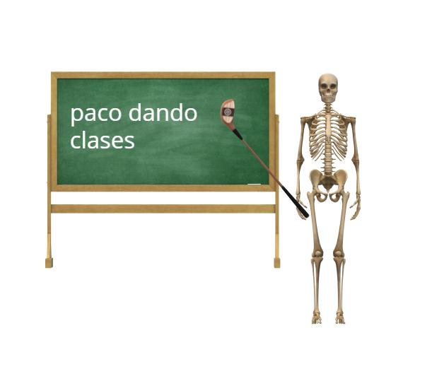 paco dando clases - meme