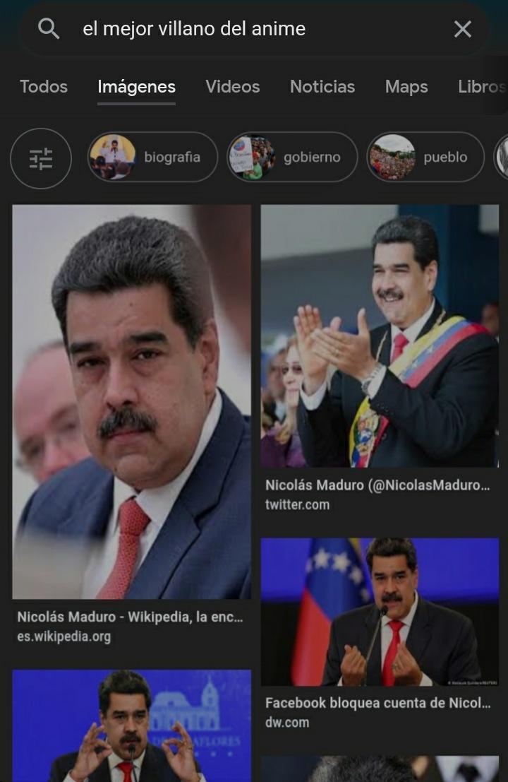 Me encanta DIO, pero Maduro se lleva el puesto al mejor villano, su arco es el mas desgarrador hasta la fecha del manga - meme