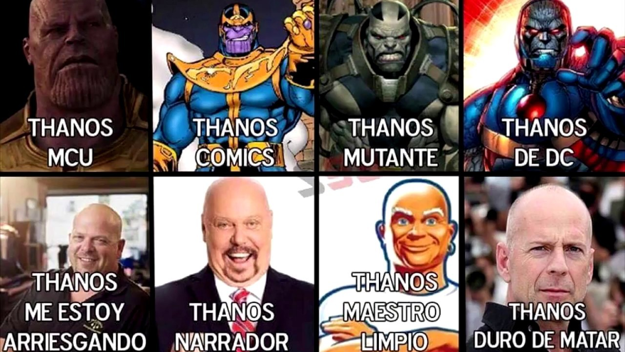 Thanos - meme