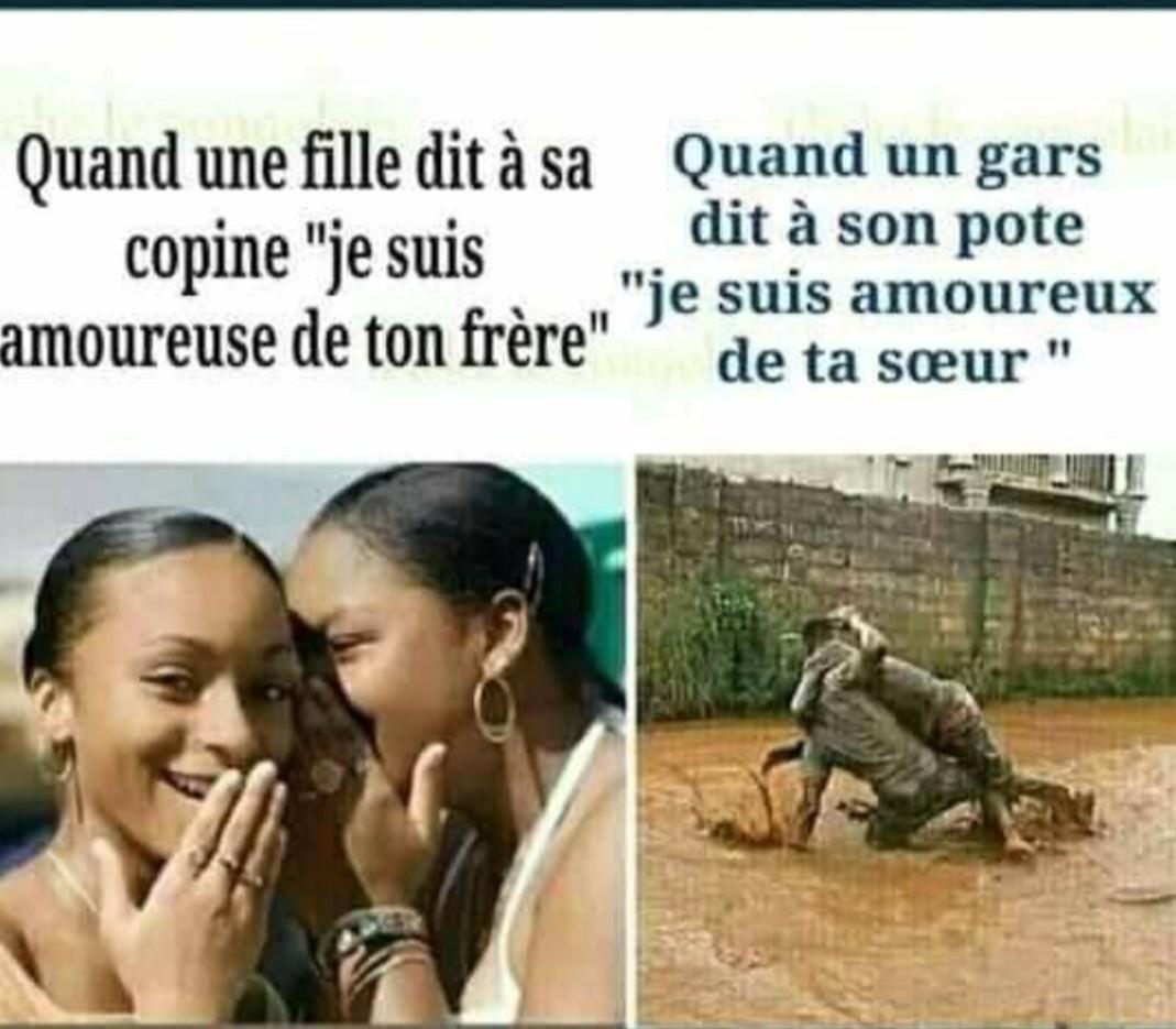 Gars vs fille - meme