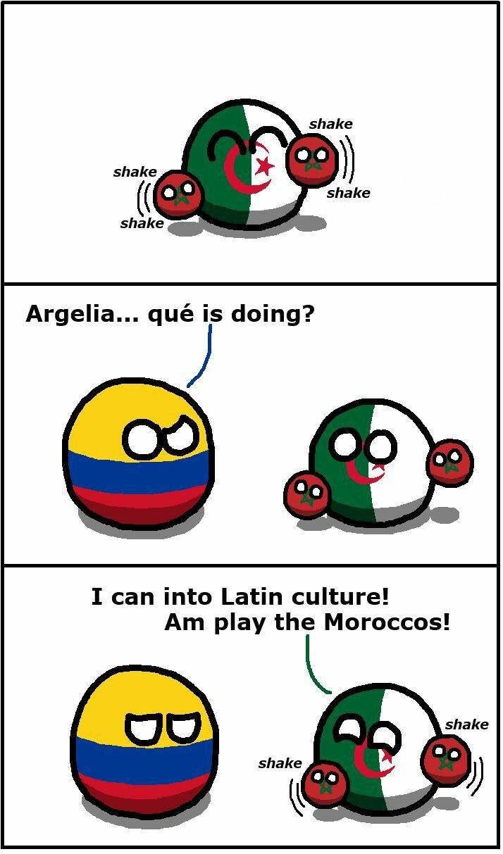 Morocco = Maracas - meme