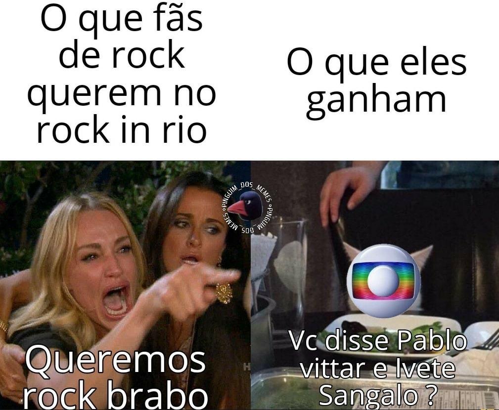 Rock in Rio - meme