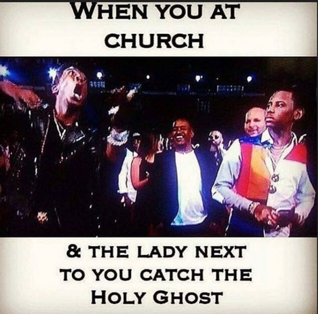Holy ghost - meme