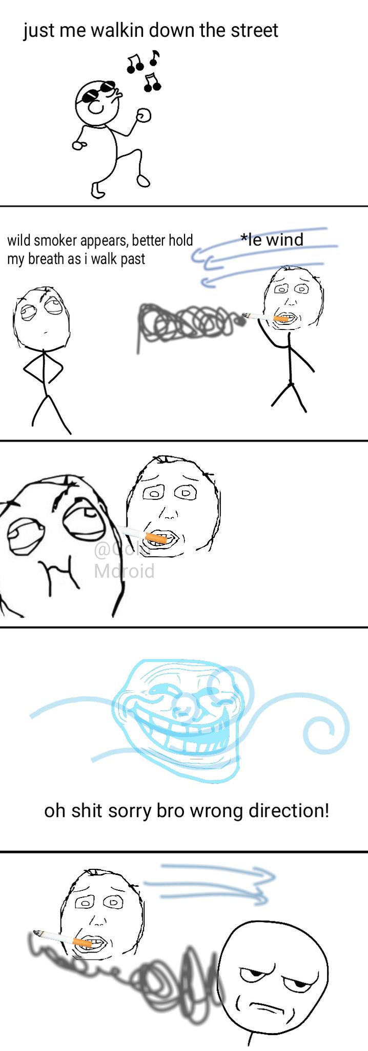Smokers Are Jokers - meme