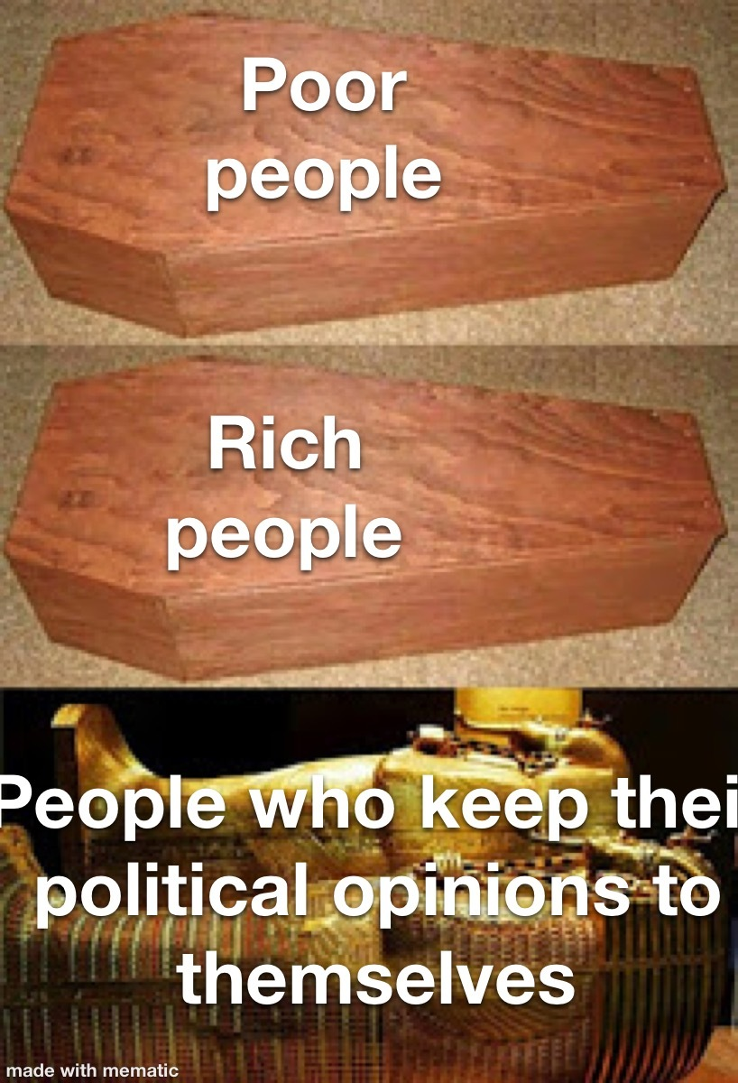 Political memes are bad
