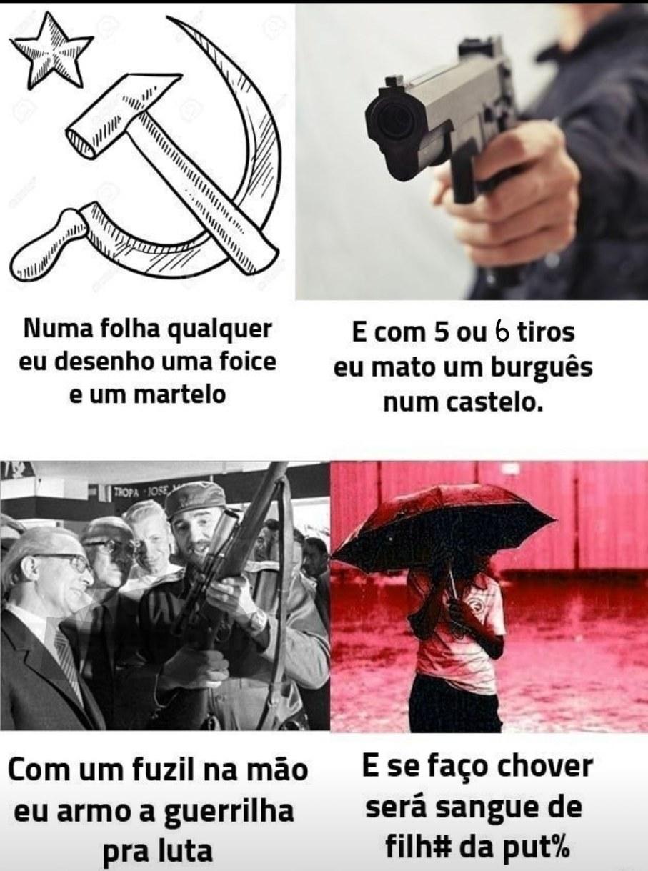 Aquarela comunista - meme
