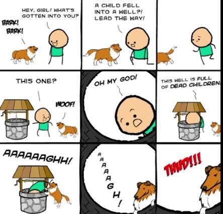 poor guy.... that dogs evil - meme