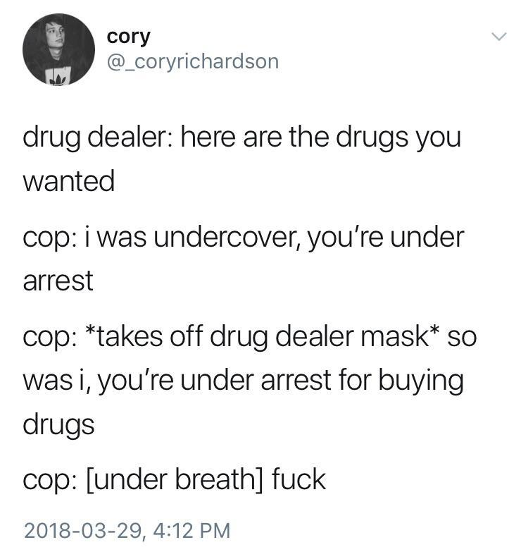 Undercover - meme