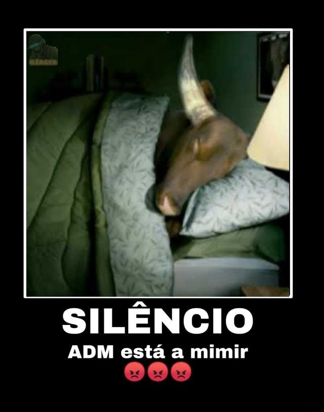 Faz silêncio FDP, o frokomemes tá dormindo