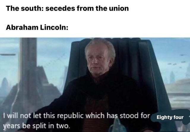 Abe was good - meme