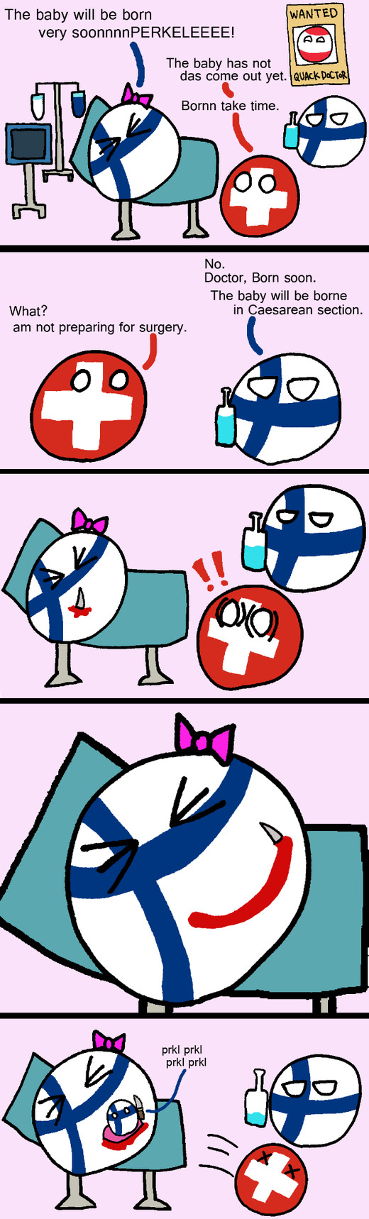 How to birth: Finland Edition - meme