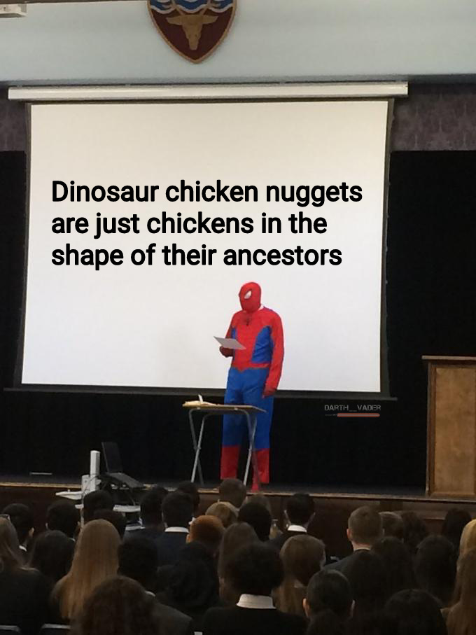 Just the T-Rex ones though - meme