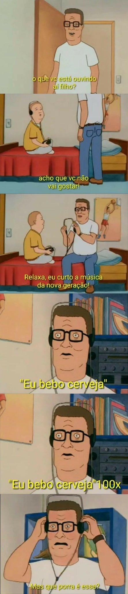 Me odeie se quiser! mais isso não é música. - meme