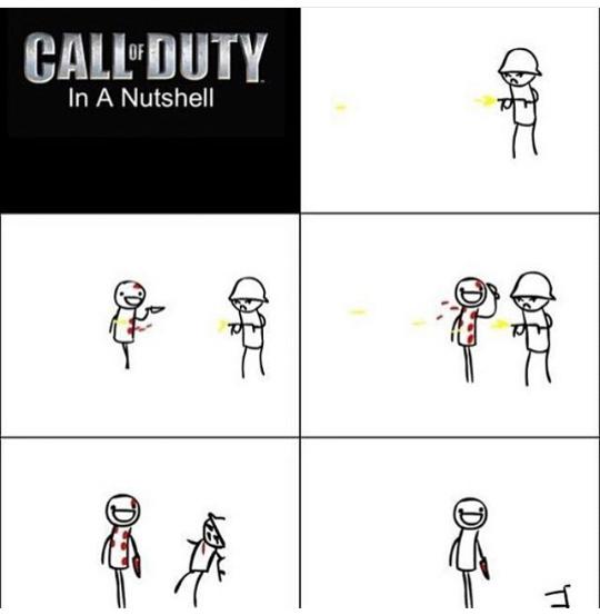 Call of duty logic - meme