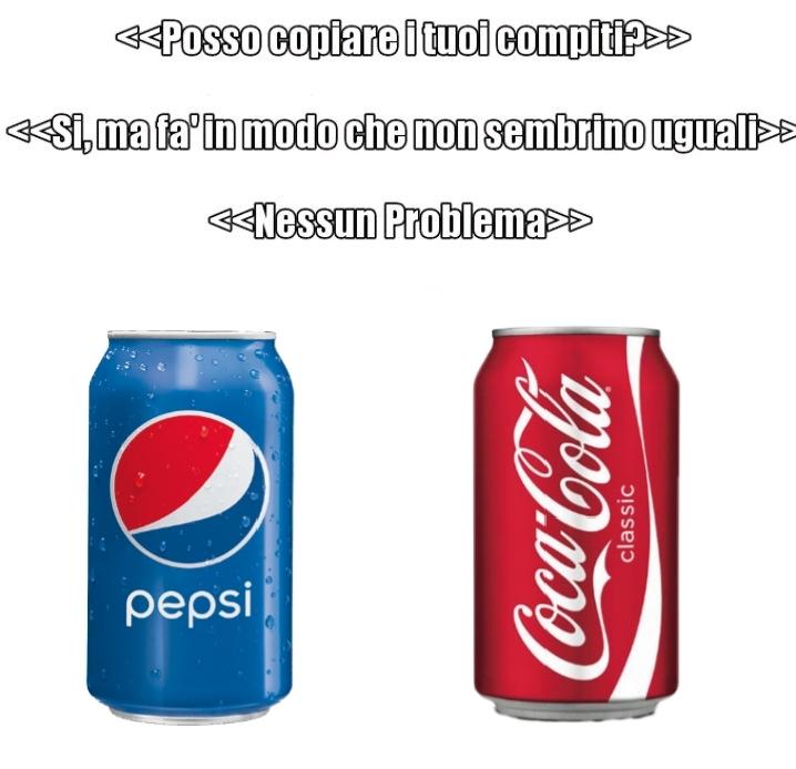 Upvotate solo per l'impegno nel tagliare la sagoma della lattina di coca cola. - meme