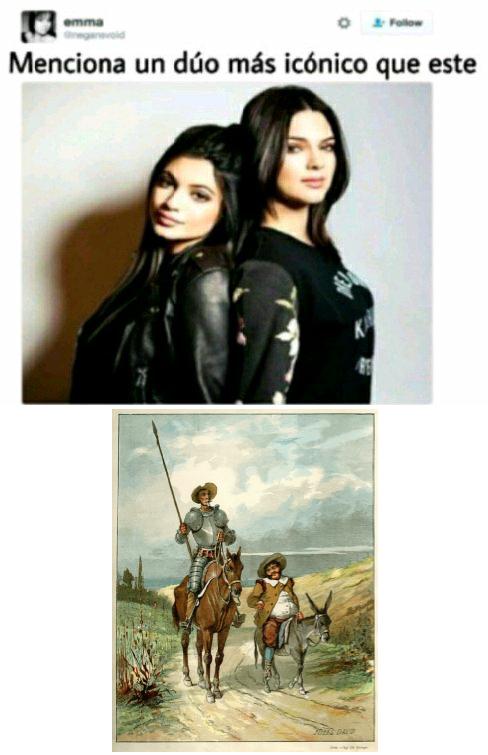 El Don Quijote de la Mancha - meme