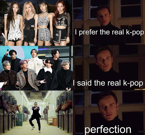 Turn around. PSY is the real kpop - meme
