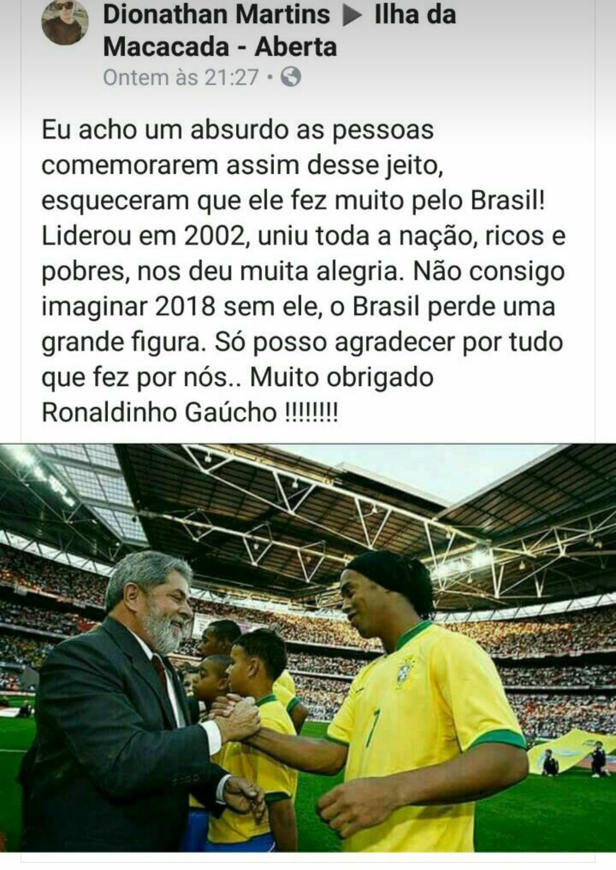 Alkakakakakakaka Ronaldinho - meme
