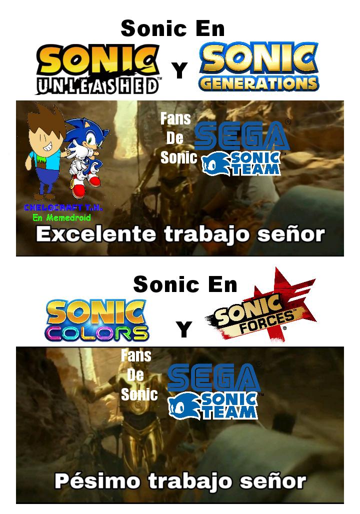 Sonic El Chiste Andante XD - meme