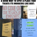if you can't pay a living wage, you don't deserve to be in business