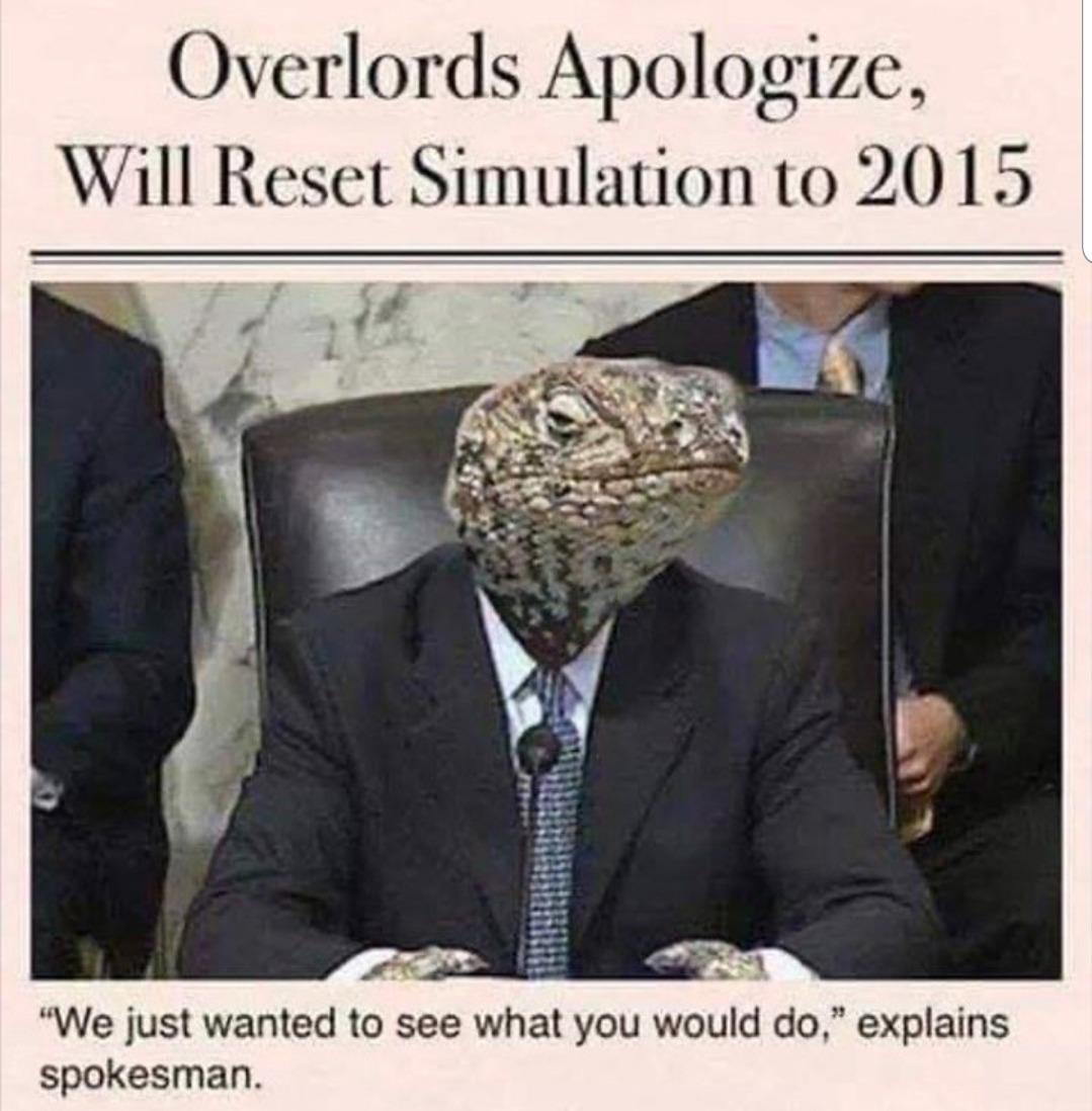 I'd prefer 2013 but I'll take 2015 - meme