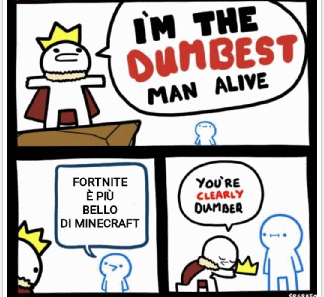Scemo chi legge - meme