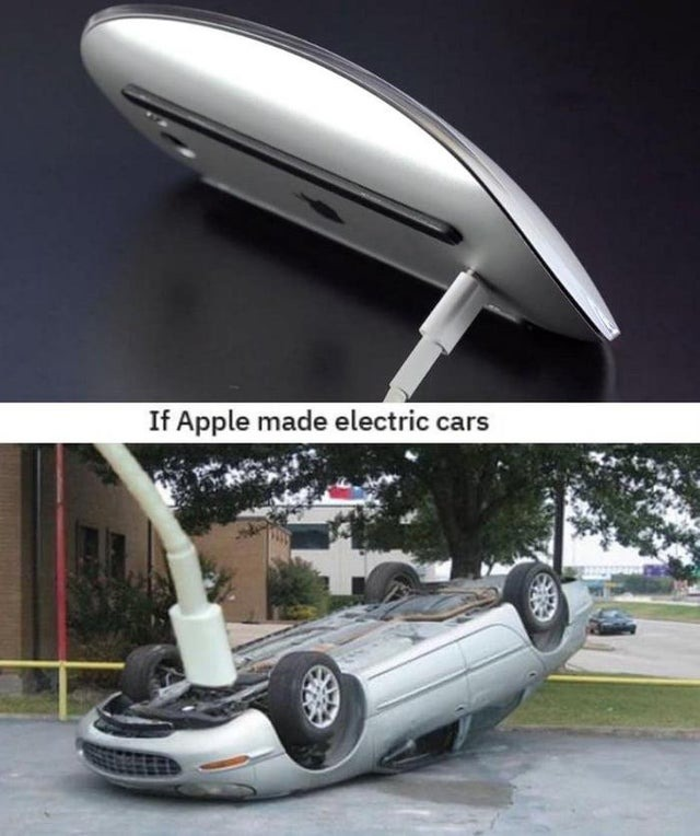 The worst design by Apple - meme