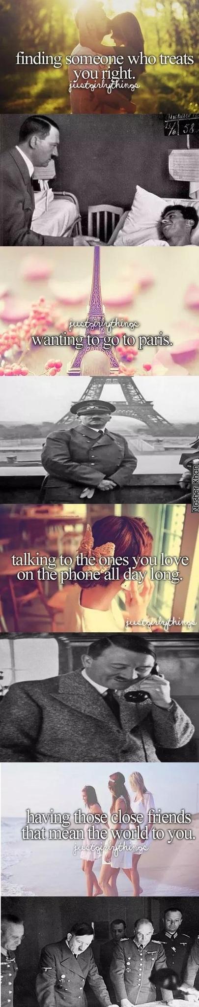 Hitler was sexy tho - meme