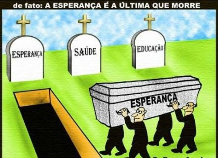 a esperança é a última que morre... ué morreu - meme