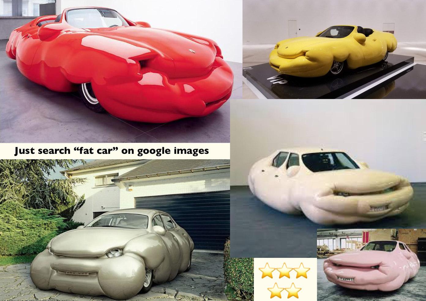Fat cars - meme