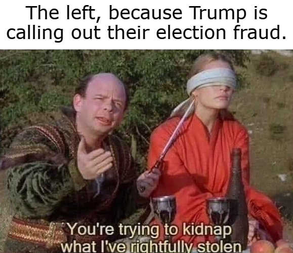 Lefties immerse themselves in propaganda, so they don't believe it's true. - meme