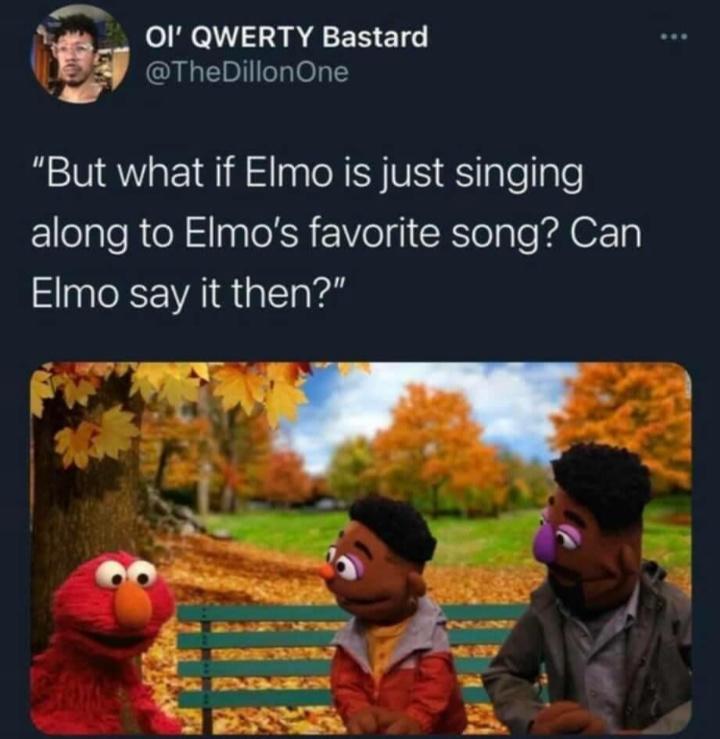 What if, Elmo? - meme