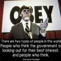 People who distrust government are wolves among sheep