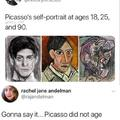 Picasso did not age well