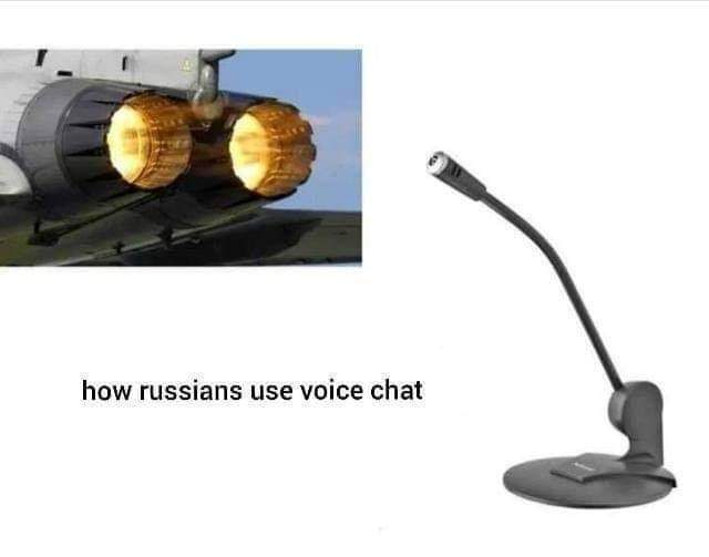 Russians in a nutshell - meme